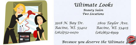 Ultimate looks hair nail salon in racine wi relylocal for 4 estrellas salon kenosha wi