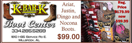 K & K boot center coupon
