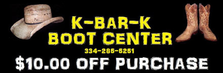boots and hats coupon for k bar k