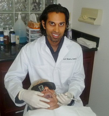 Dentist Downey apply in a Teeth Cleaning