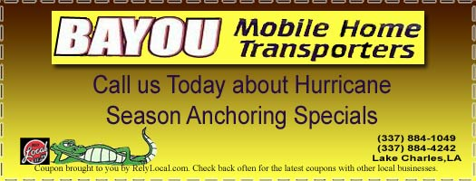 Bayou Mobile Home Transporters: Mobile Home Moving, Mobile