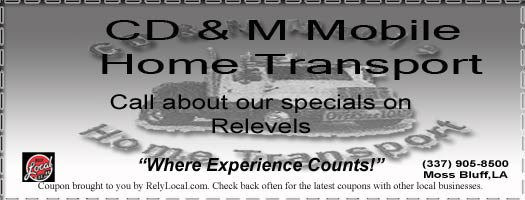 CD & M Mobile Home Movers: mobile transporting, anchoring