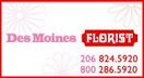 Des Moines Florist, Fresh Flowers and Plants - Des Moines, Washington