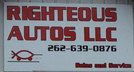 fix cars - Righteous Autos Sales and Service - Caledonia, WI