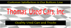 Thomas Used Cars, Inc. - Wilson, NC