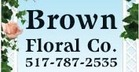 Brown Floral Co. - Jackson, MI