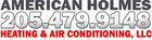 American Holmes Heating & Air Conditioning, LLC - Clanton, Alabama