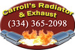 Carroll's Radiator & Exhaust - Prattville, Alabama