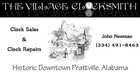 The Village Clocksmith - Prattville, Alabama