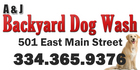 A & J Backyard Dog Wash - Prattville, Alabama