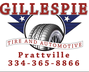 Gillespie Tire & Automotive Service - Prattville, Alabama