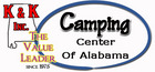 near montgomery - Camping Center of Alabama, K & K Inc. - Millbrook, Alabama