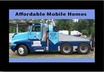 Affordable Mobile Homes: Mobile Home Moving, Mobile Home Transport, Re-selling Mobile Home Repo's - Westlake, Lousiana