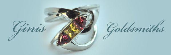 Ginis Goldsmiths, custom jeweler, custom made jewerly