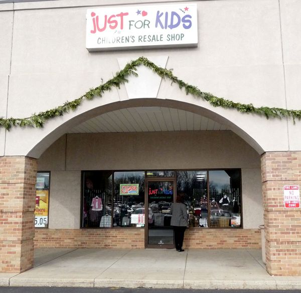 Just for Kids Resale Shop store front