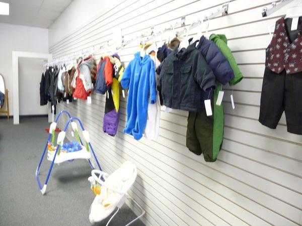 children's coats, children's seasonal clothing, used clothing