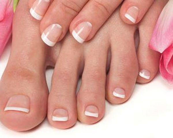 Manicure and pedicure services