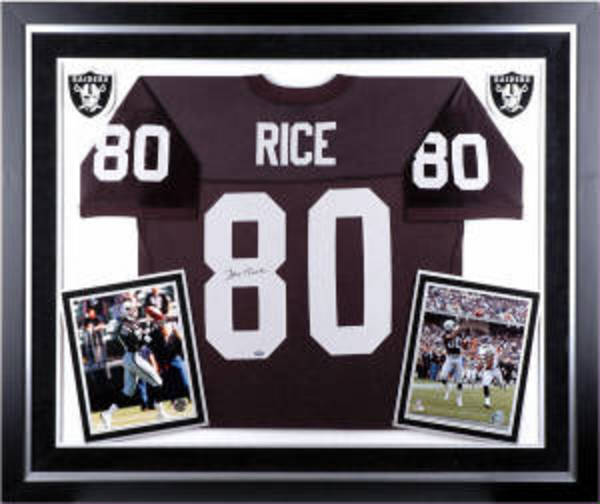 oakland raiders jersey frame