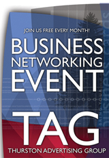 TAG - Thurston Advertising Group - Small Business Networking