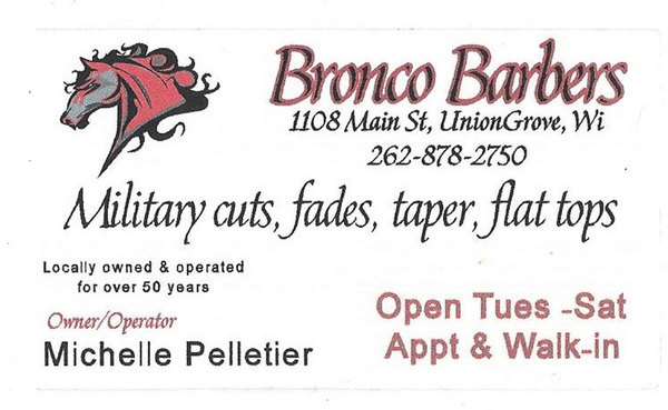 Bronco Barbers in Union Grove, WI : RelyLocal