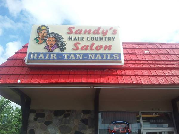 Sandy 39 s hair country salon in racine wi relylocal for 4 estrellas salon kenosha wi