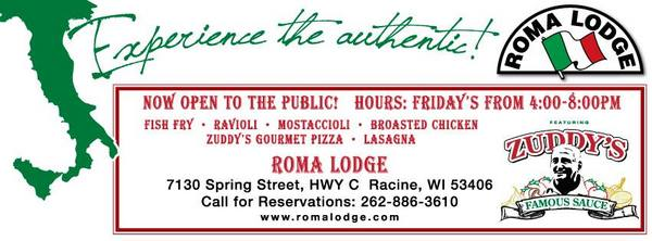 Roma lodge in mount pleasant wi relylocal for Fish fry racine wi