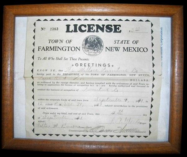 Wallace Furniture Company In Farmington New Mexico