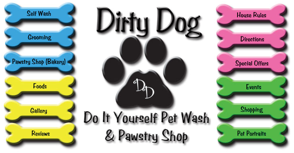 Dirty Dog Do It Yourself Pet Wash And Pawstry Shop In