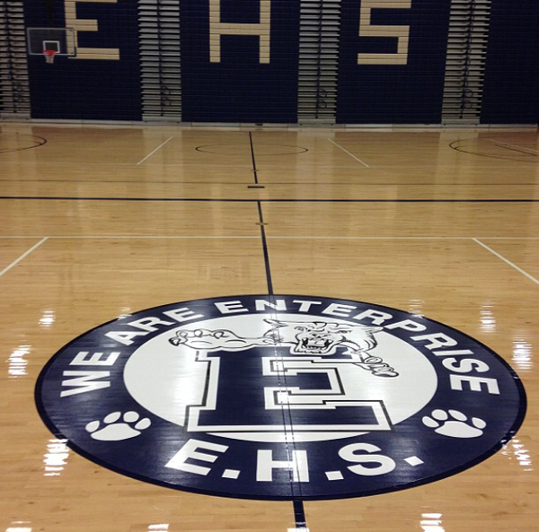 Basketball Hardwood Refinishing and Installation Alabama