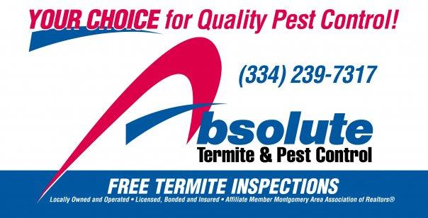 Free Termite Inspection Montgomery, AL