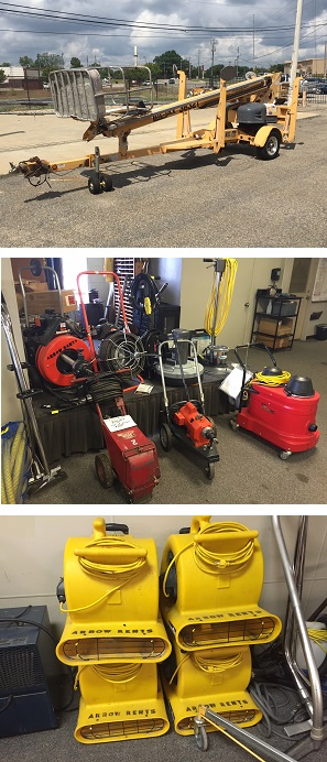 Equipment Rental & Tool Rental Montgomery, Alabama - Arrow Rents