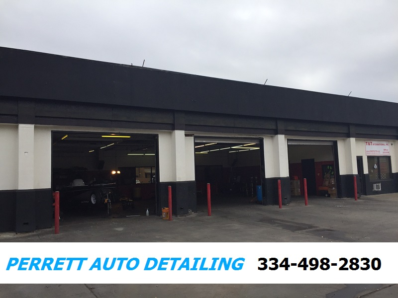 Automotive Detailing Shop Montgomery, AL