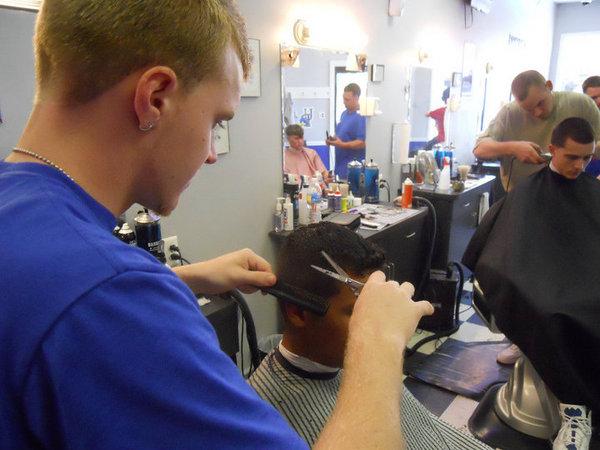 Year Calendar By Week : U s male modern barbershop newark in de