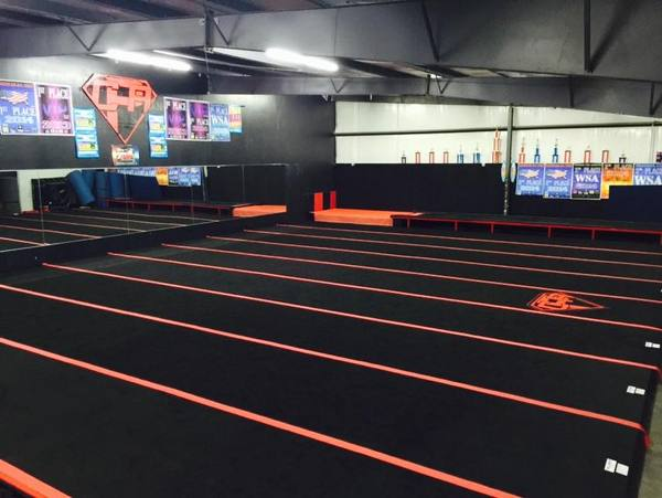 gym at cheer pro athletics picture