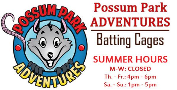 batting cages at possum park adventures in prattville al
