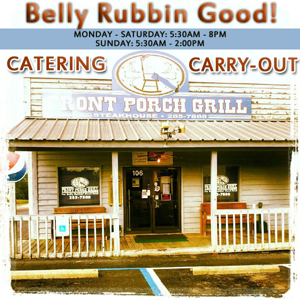 The front porch grill cafe restaurant in millbrook, alabama