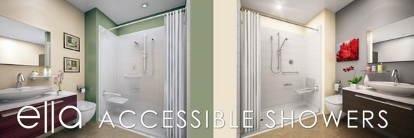 ella accessible showers by A1 Acrylic Bath Systems in Prattville, AL