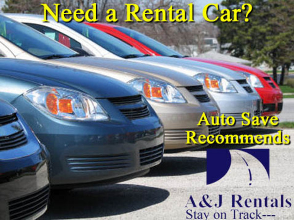 auto save recommends A & J car and van rentals links