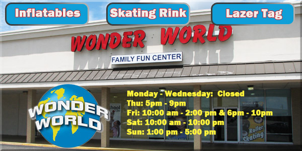 Wonder World Family Fun center prattville, al
