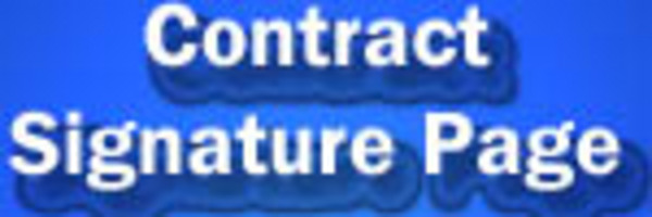 contract signature page for pjs rentals
