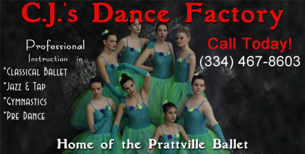 cj's dance factory for dance classes in prattville, alabama