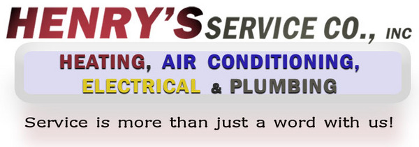 Henry's service co provides heating and air service as well as plumbing and electrical service to the Montgomery, Prattville and Hope Hull, alabama area.