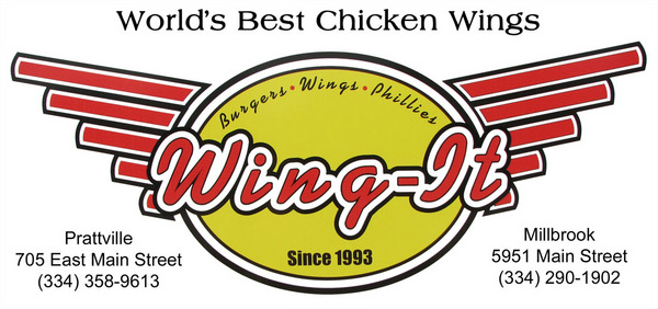 Wing it Hot wings, buffalo wings and chicken wings in Prattville, Millbrook Alabama