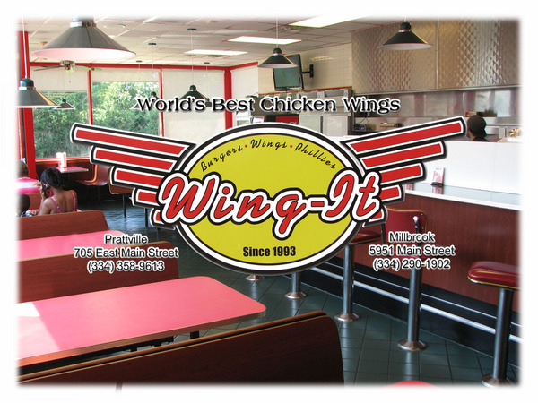 Buffalo wings restaurant in prattville and millbrook, al