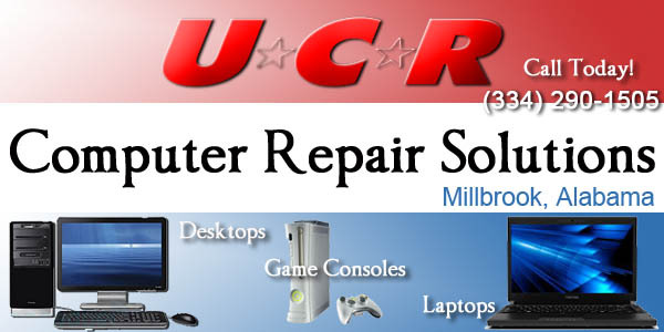 ucr computer repair shop in millbrook, alabama
