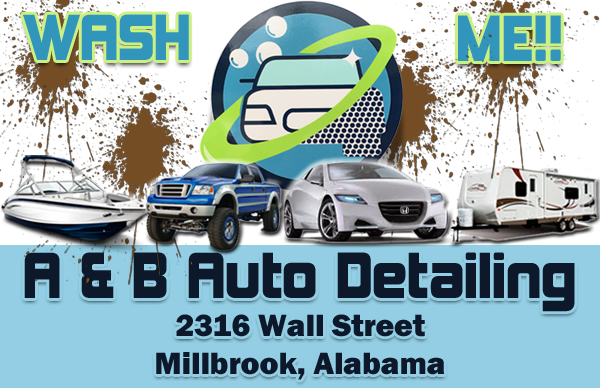 A & B Auto Detail in Millbrook AL
