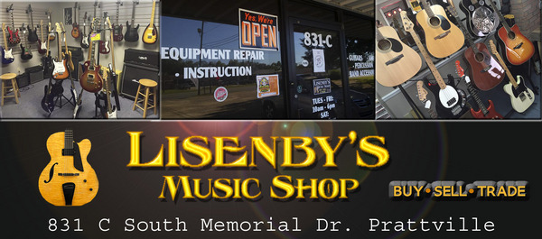 music stores in prattville, alabama, music lessons, guitar lessons