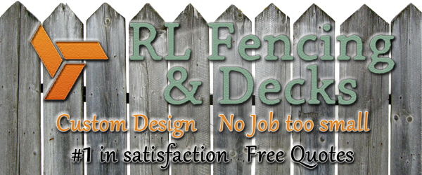 rl fencing and decks in millbrook, al