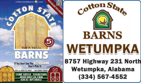 cotton state portable rent to own storage buildings in wetumpka, al