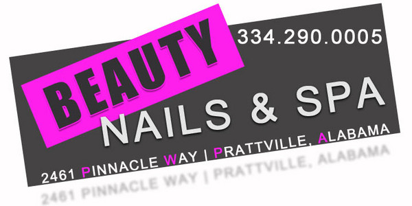 beauty nails and spa page header on relylocal prattville al